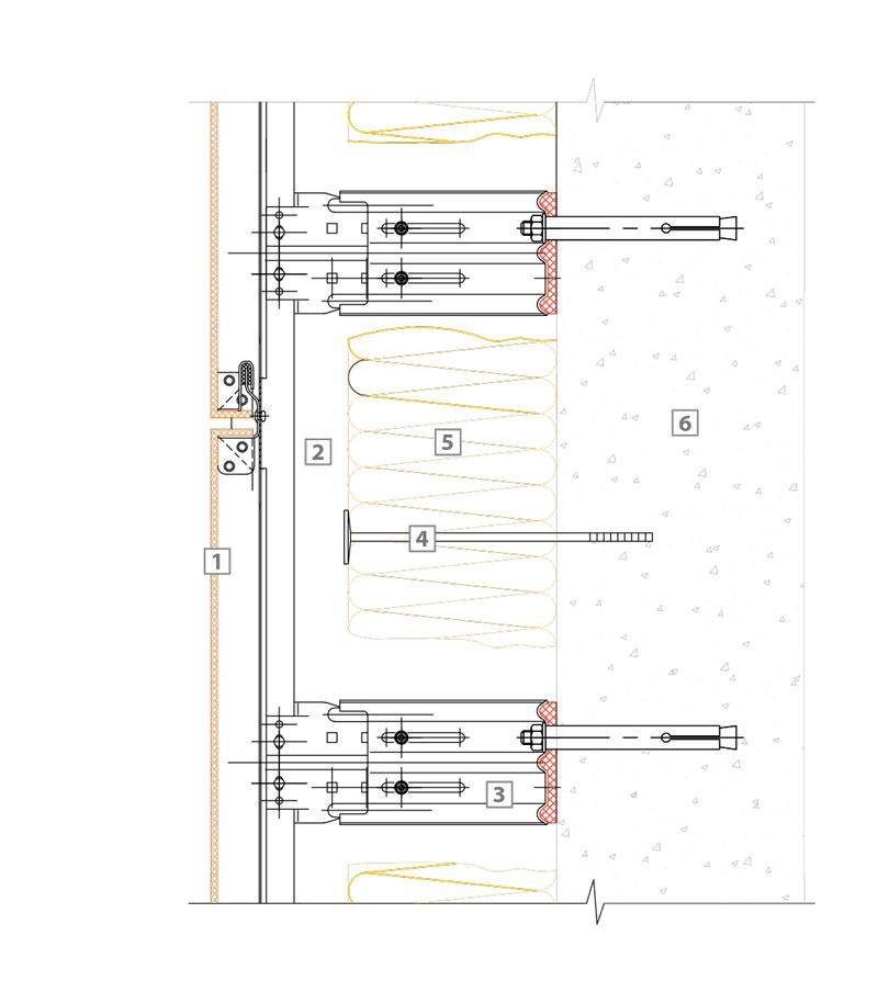 спецификация Вент фасада
