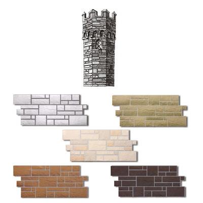 фасадни панели имитация на камък