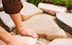 изграждане на Каменна настилка