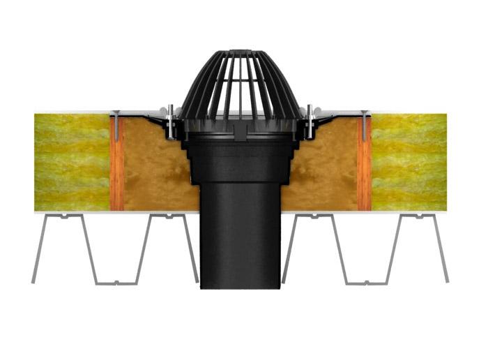 voronka-corrugated-flange-use